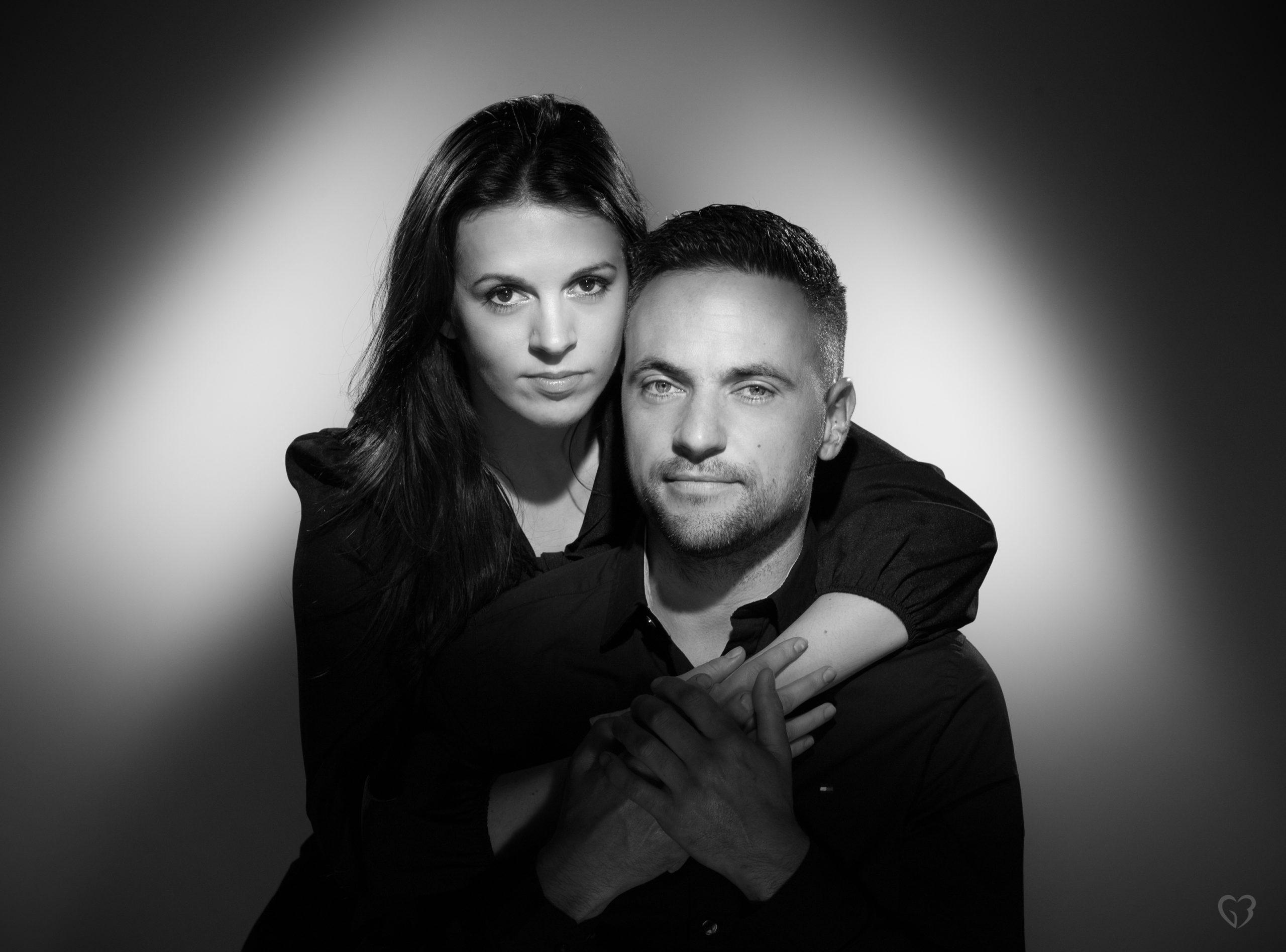 Photographe Bordeaux Talence portrait noir et blanc